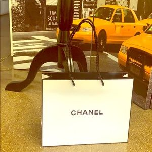 CHANEL empty paper bag